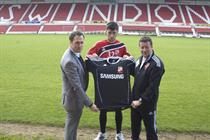 Samsung and Swindon Town begin search for budding football star
