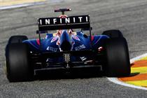 Infiniti secures F1 Red Bull team tie-up