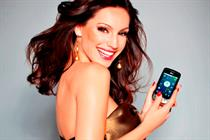 Kelly Brook fronts LG handset push