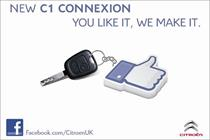 Citroen ties up with Facebook for 'first' crowsourced production vehicle