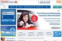 Tesco closes second-hand car business