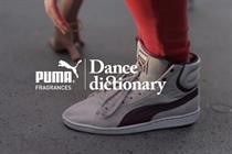 Words become dance moves in Puma's latest viral