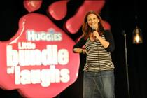 Huggies launches stand-up comedy branded content
