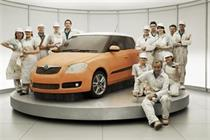 Skoda promotes marketer and promises record spend