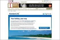 Standard Life partners with The Independent for digital push