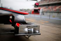 McLaren unveils Twitter handle at Spanish Grand Prix