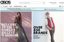 Asos to open Facebook store