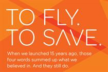 EasyJet mocks BA with 'To Fly. To Save.' ads