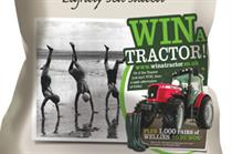 Tyrrells Crisps launches 'Win a Tractor' competition