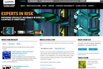 Insurance giant Lloyd's launches new website
