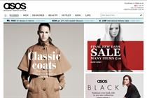 Asos retail sales rocket 50% in six months