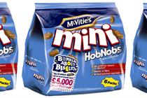 UB extends McVitie's Mini range