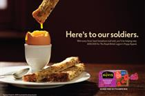 Hovis TV ad supports Royal British Legion's annual Poppy Appeal