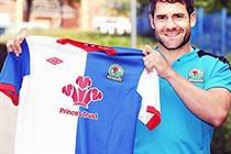 Blackburn Rovers donates shirt sponsorship to charity