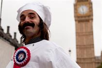 Just Eat enters ad character in by-election