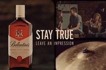 Ballantine's whisky unveils global 'Stay True' positioning