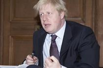 Boris Johnson awards tech and digital media sectors £400,000 grant