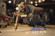 Joan Collins replaces Mr T as the face of Snickers