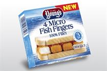 Young's launches microwaveable fish fingers