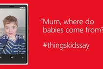Parents face awkward questions in Windows Phone film