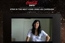 Coke Zero calls open auditions for global campaign