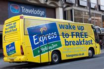 Express by Holiday Inn delivers free breakfasts to guests at rival chains