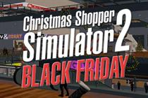 Game resurrects social media hit 'Christmas Shopping Simulator' for Black Friday