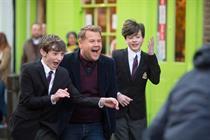 James Corden 'frees the joy' in Cadbury campaign