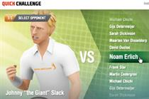 EA Sports targets Facebook users with Grand Slam Tennis campaign