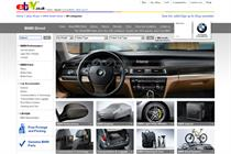 BMW ramps up ecommerce offering with eBay store