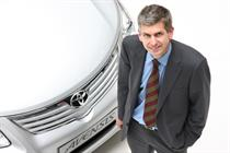 Toyota GB marketing director John Thomson to leave following reshuffle