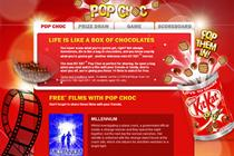 Kit Kat ties up with LoveFilm to promote Pop Choc snack
