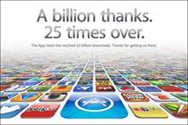 Apple's App Store hits 25bn download landmark