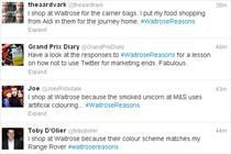 Waitrose Twitter campaign hijacked by 'upper class' jibes