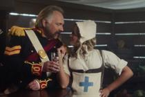 Bombardier ramps up spend for new Rik Mayall campaign