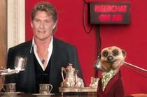 David Hasselhoff stars in Comparethemarket.com's first 'Meerchat' podcast
