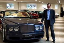 Andy Duncan joins luxury car retailer