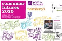 Unilever and Sainsbury's predict sustainable lifestyles by 2020