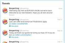 BK Twitter feeds grows by 20,000 following hacking