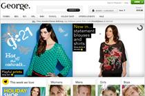 Asda plots online boost for George clothing brand