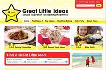 Premier Foods takes Great Little Ideas online