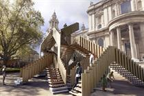 Endless Stair commissioned for London Design Festival 2013