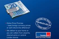 Travelex pushes online service with UK ad campaign