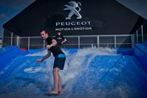 Peugeot allows consumers to enjoy the surf at Goodwood