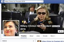 Hillary's presidential push gains 251k tweets and 1.78m Facebook views in 10 hours