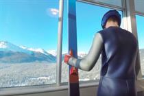 Samsung creates virtual reality ski jump to push Gear VR headset