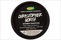 Lush lampoons Amazon UK MD with Christopher North shower gel