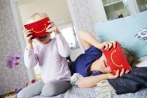 McDonald's turns its Happy Meal box into virtual reality goggles