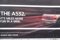 Mini ad banned for encouraging dangerous driving