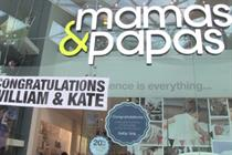 Mamas & Papas celebrates new prince with royal baby party